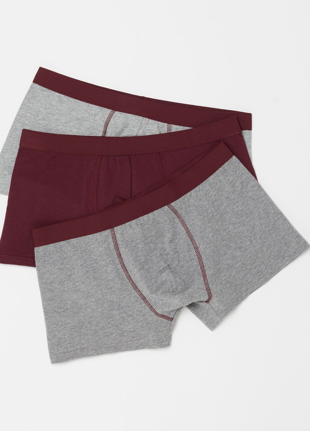 Three-pack stretch cotton boxer shorts