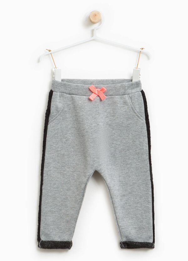 Glitter trousers with side bands | OVS