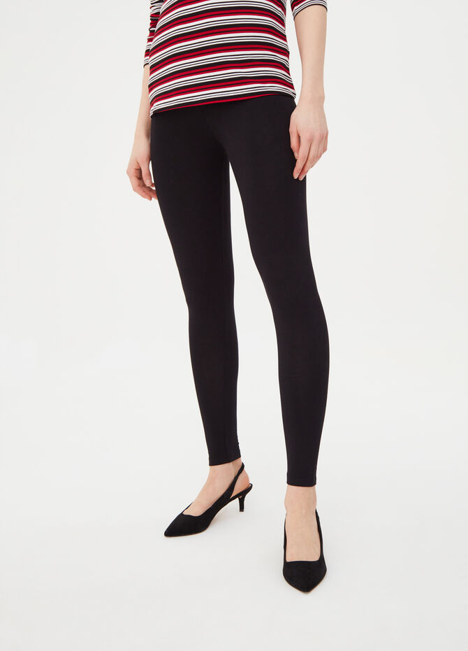 100% stretch cotton leggings