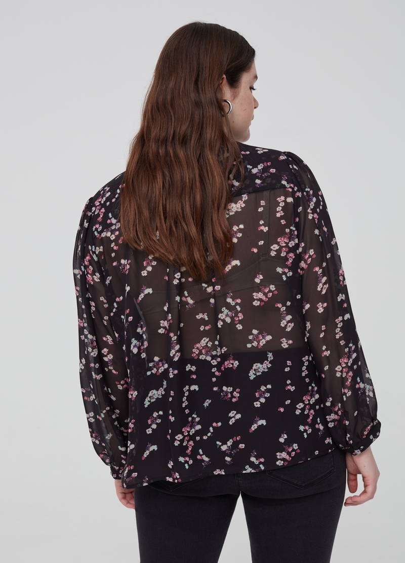 Blusa floreale Curvy image number null