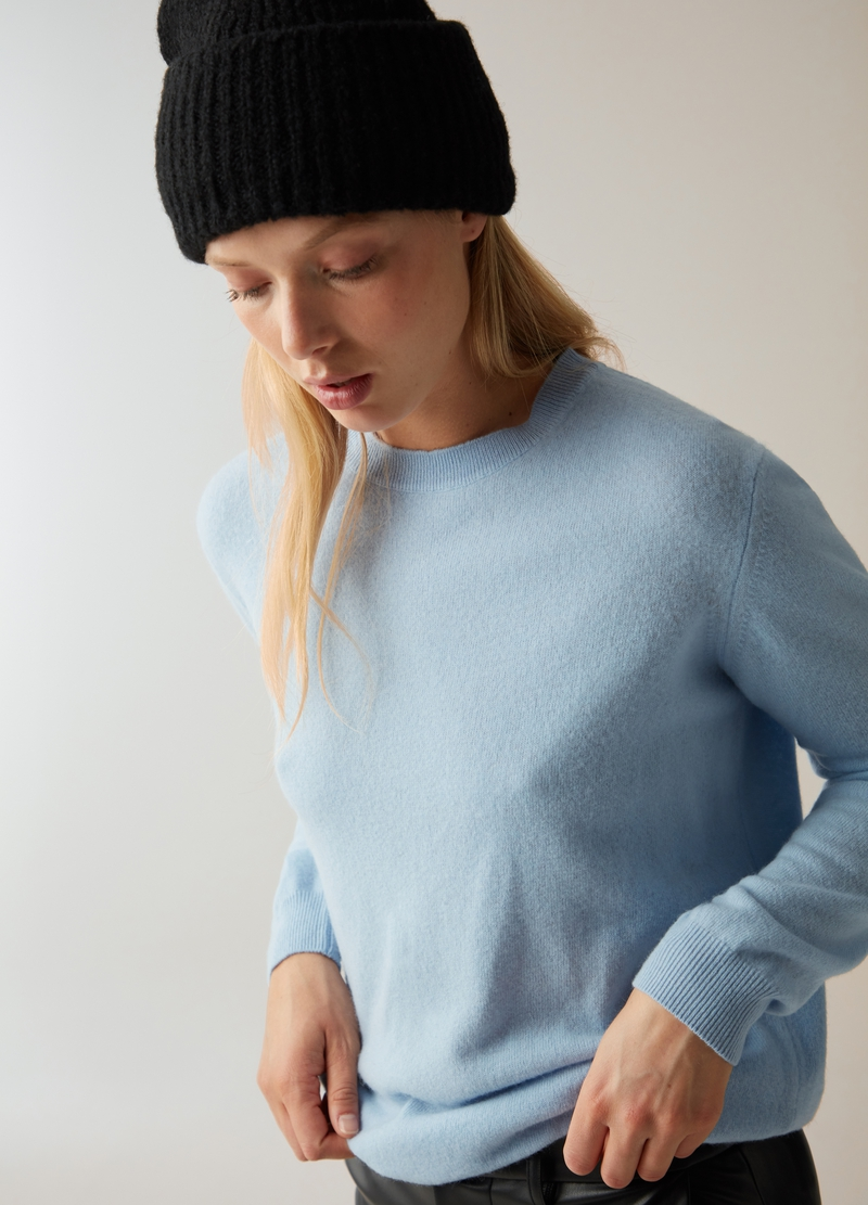 PIOMBO Pullover in lana e cachemire image number null