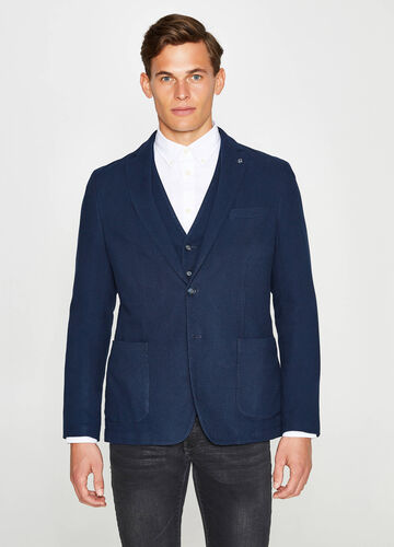 Two-button cotton jacket