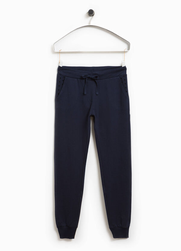 Smart Basic joggers with polka dot pockets | OVS