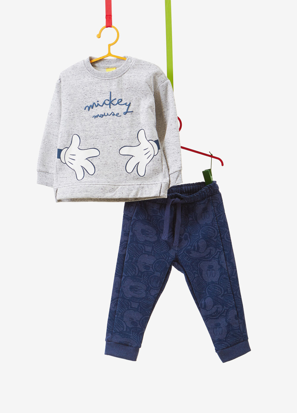 Mickey Mouse cotton blend tracksuit