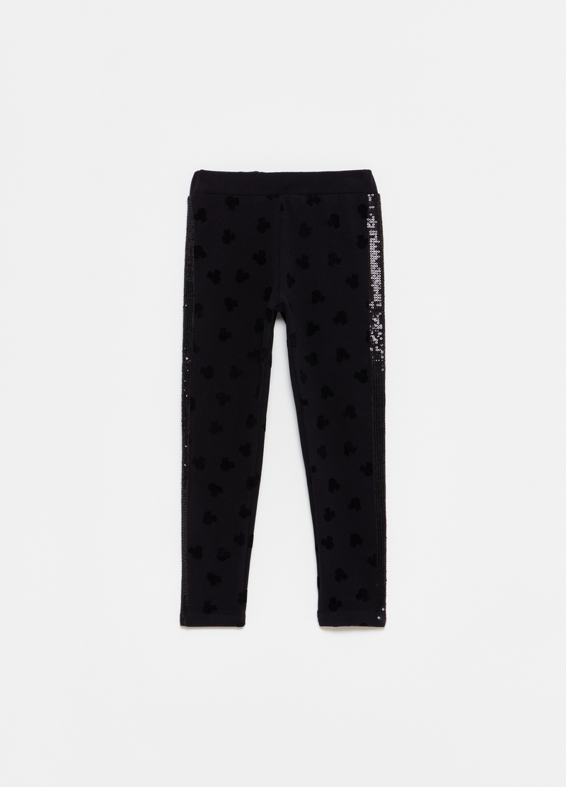 Leggings con paillettes Disney Minnie image number null