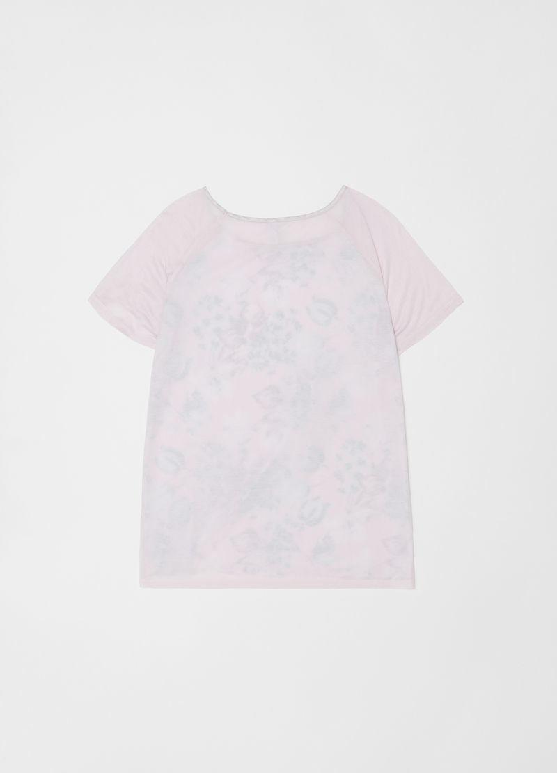 Pyjama top with floral print image number null