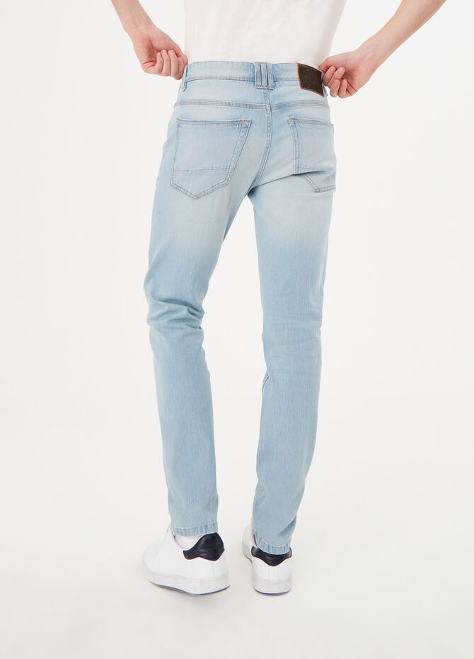 Jeans skinny fit stretch effetto vintage
