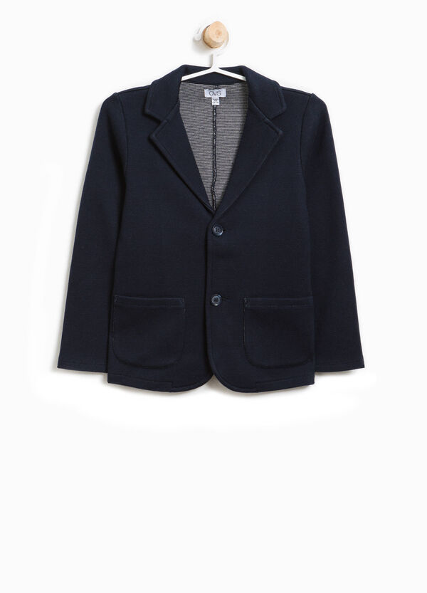 Two-button cotton jacket | OVS