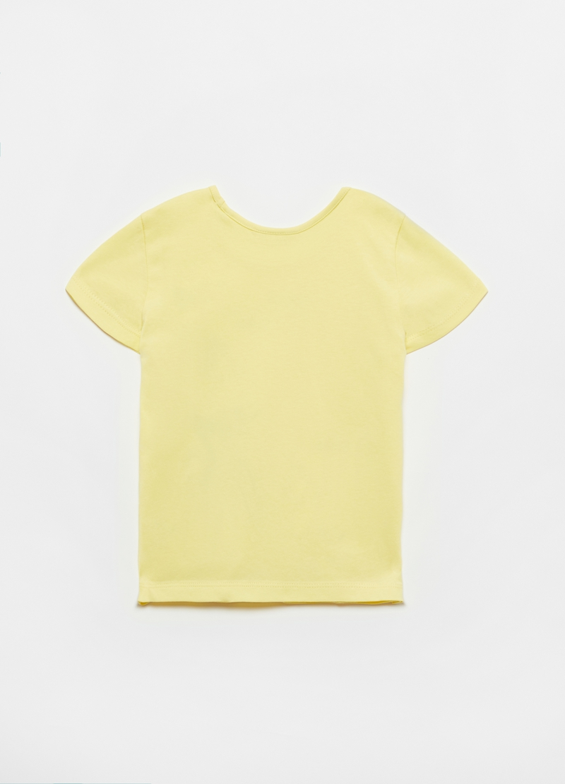 T-shirt in cotone con stampa image number null