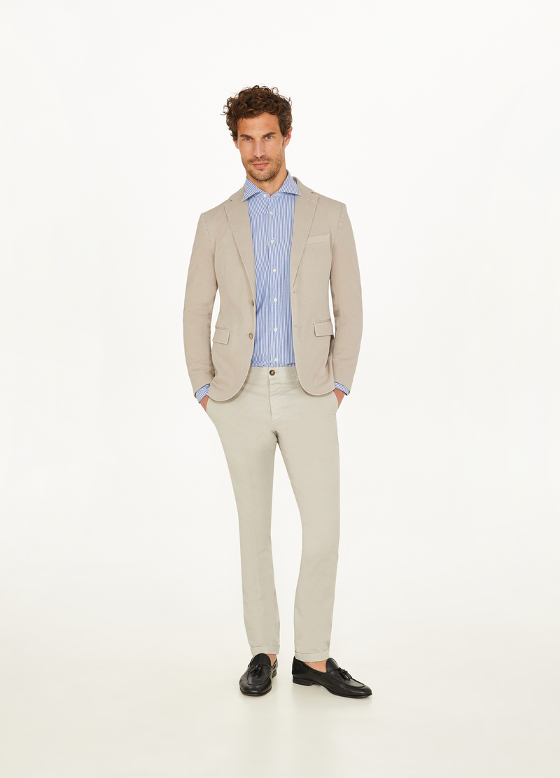 Giacca in cotone stretch Rumford image number null