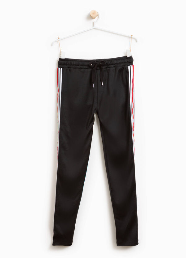 Joggers with drawstring and patch | OVS