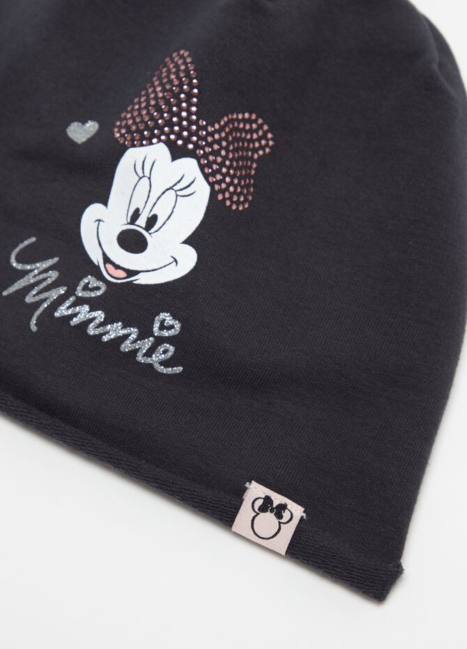 Berretto stampa glitter Disney Minnie