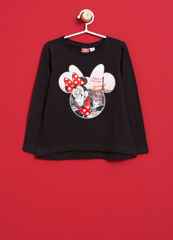 Minnie Mouse T-shirt in stretch cotton | OVS