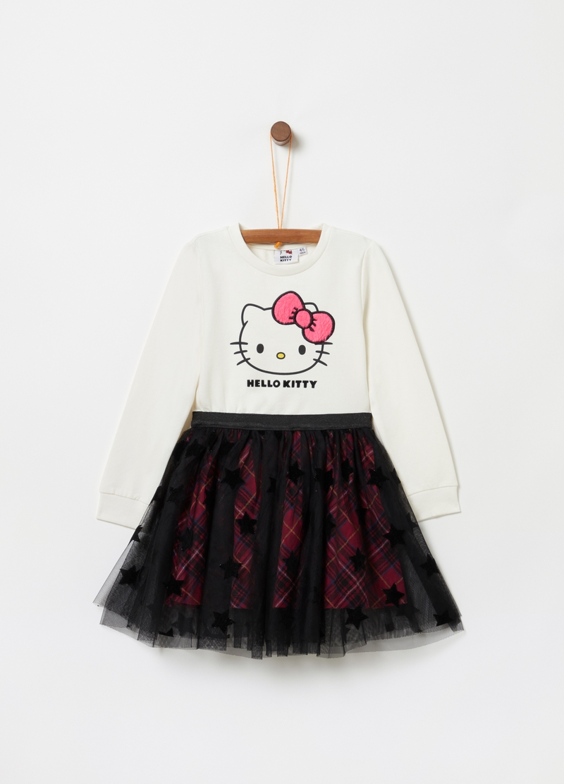 Vestitino stampa Hello Kitty con tulle image number null
