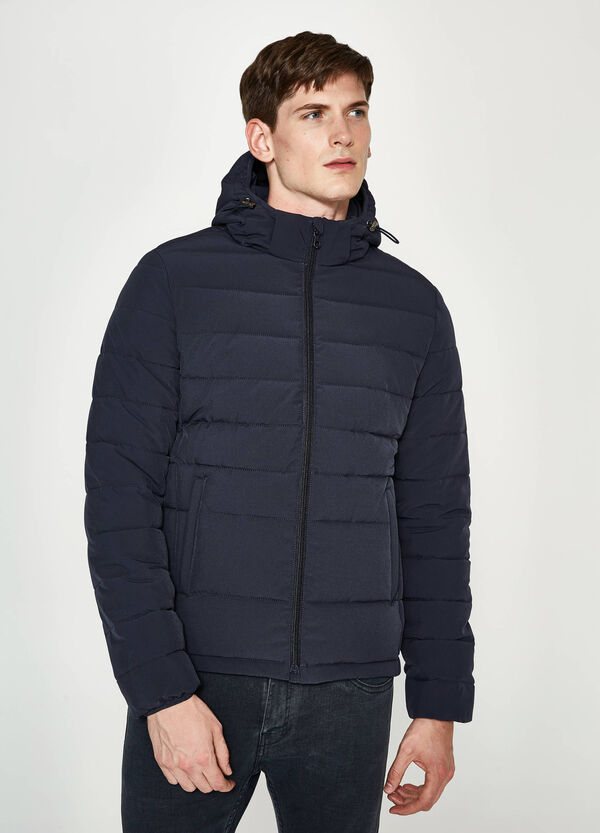 Stretch down jacket with hood | OVS