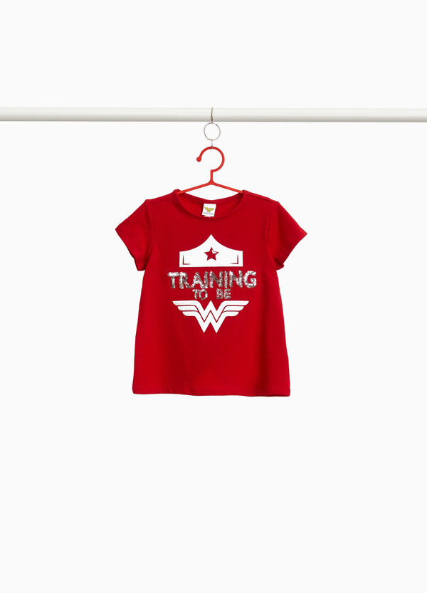 T-shirt stretch Wonder Woman