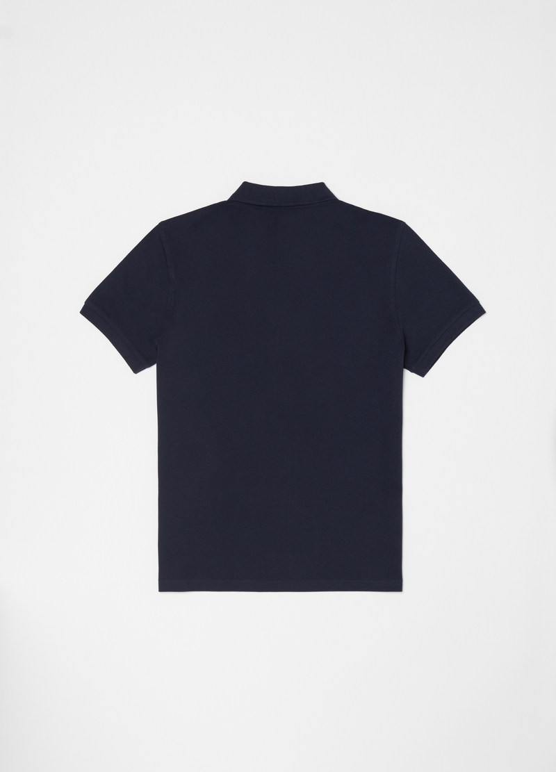 Polo shirt in 100% cotton with bluff collar image number null
