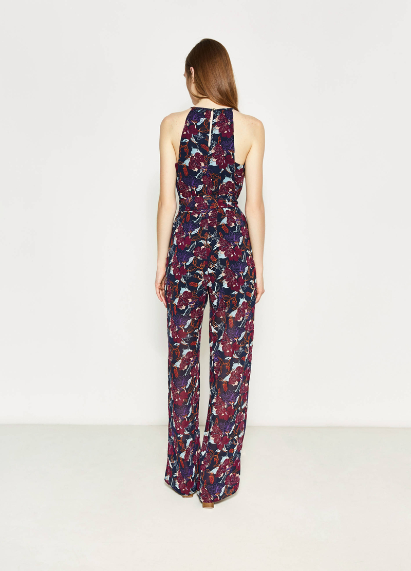 Playsuit with all-over floral print image number null