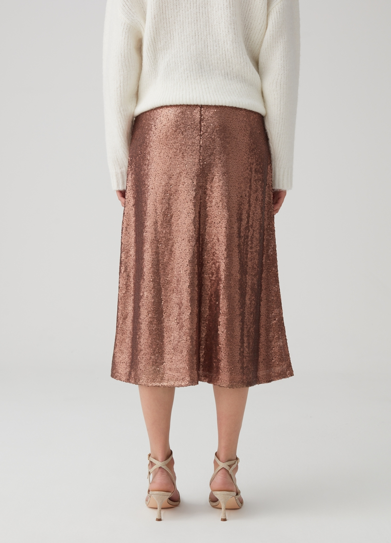 Sequinned skirt image number null