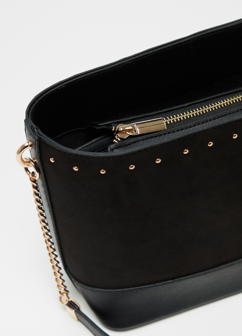 Bucket bag with small studs image number null