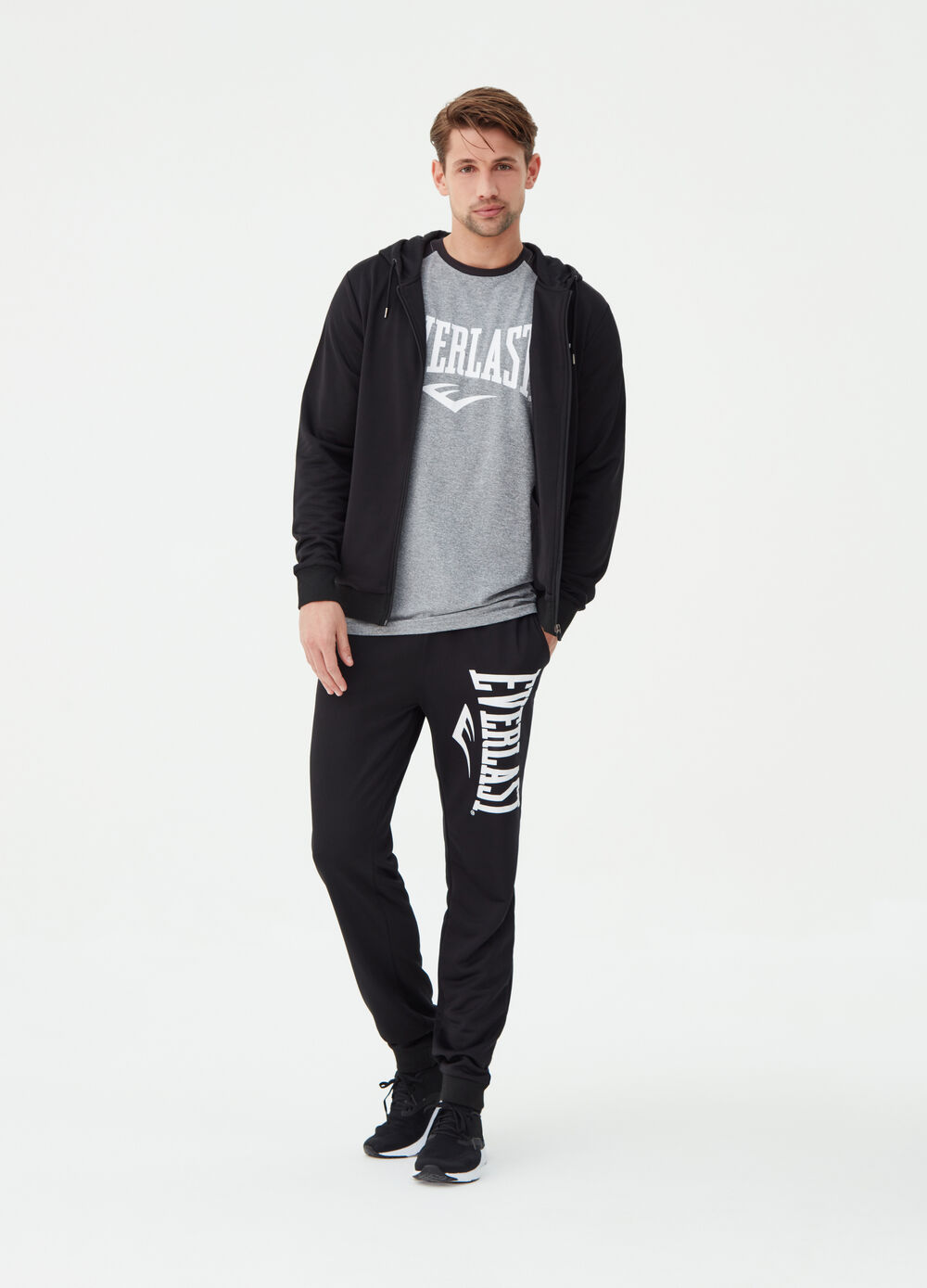 Everlast stretch sweatshirt with zip