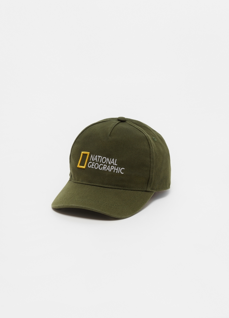 Baseball cap with National Geographic embroidery image number null