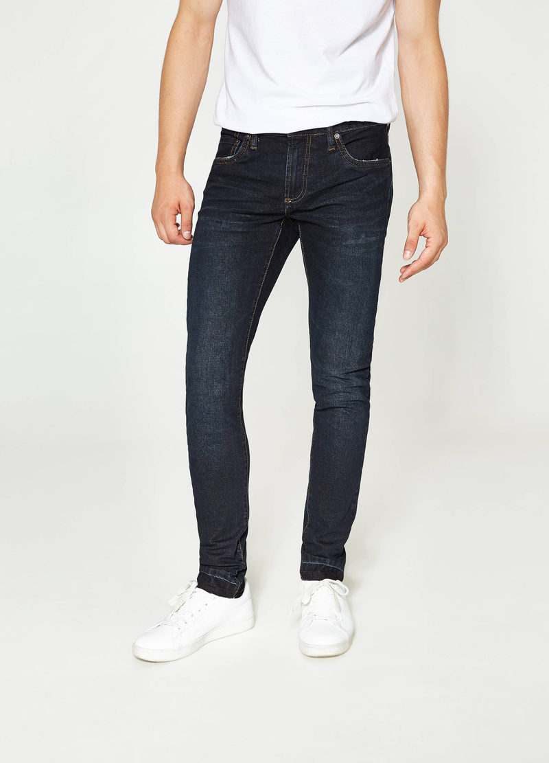 Jeans skinny fit stretch tinta unita image number null