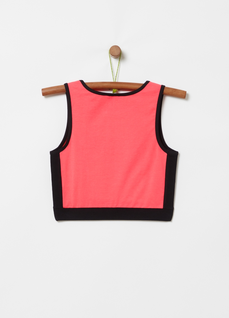 Top stretch con stampa Everlast image number null