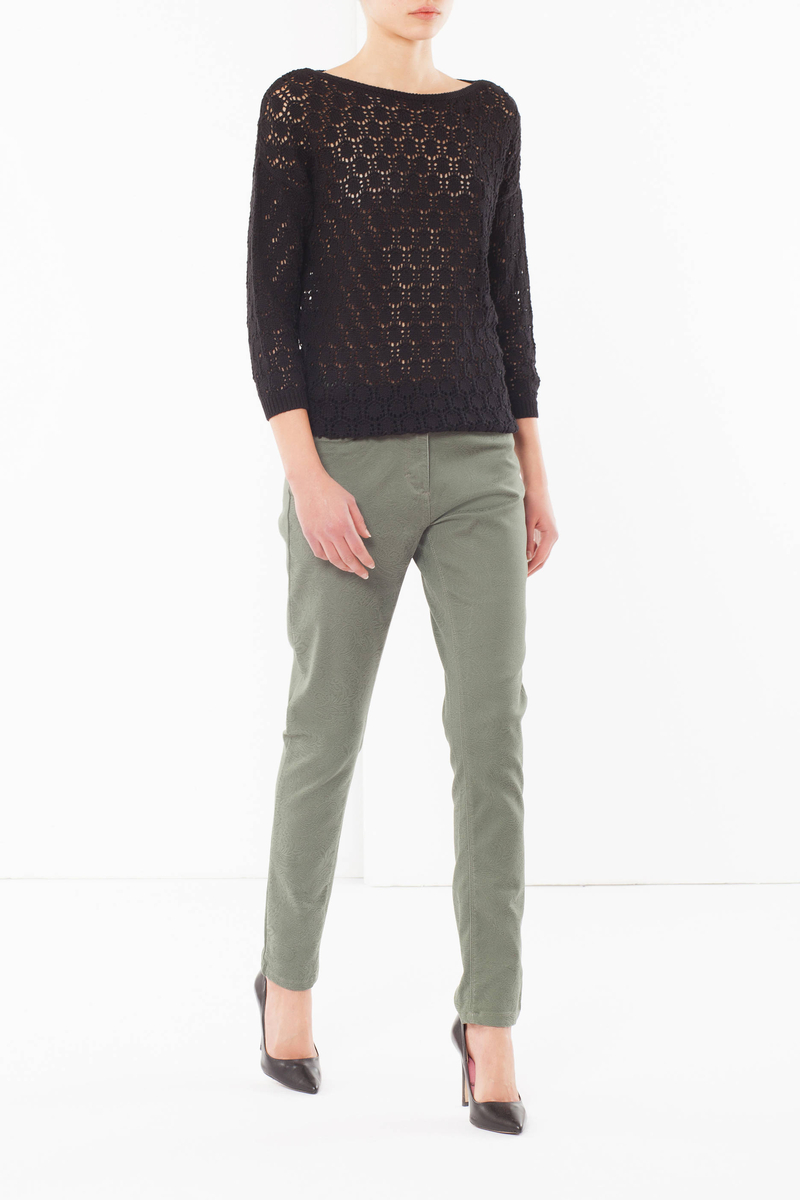 Embroidered trousers image number null