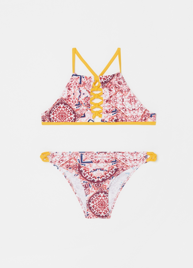 Bikini with arabesque pattern image number null