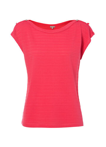 Smart Basic T-shirt in viscose blend