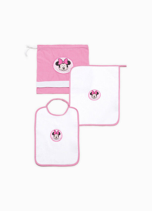 Set asilo misto cotone con patch Minnie | OVS