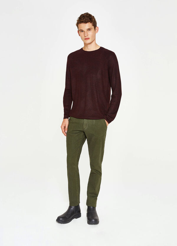 Pantaloni chino slim fit stretch | OVS