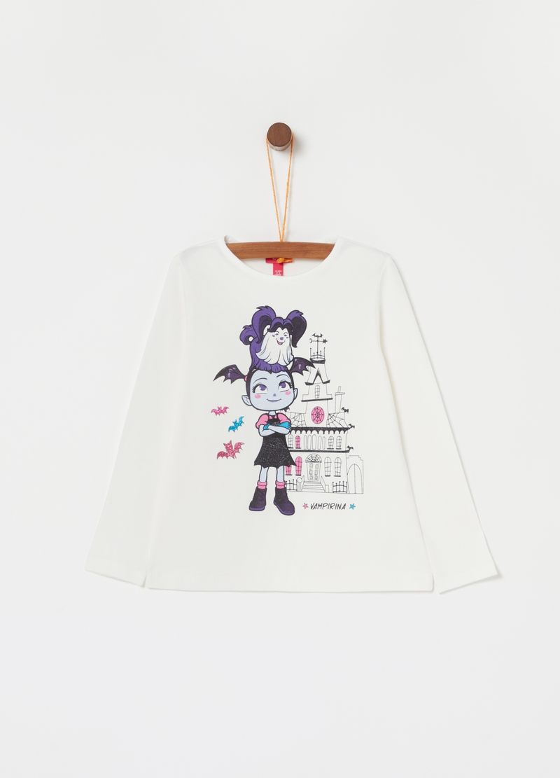 T-shirt cotone stretch Disney Vampirina image number null