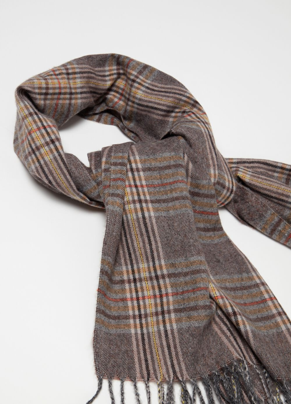 Heritage check, soft touch scarf