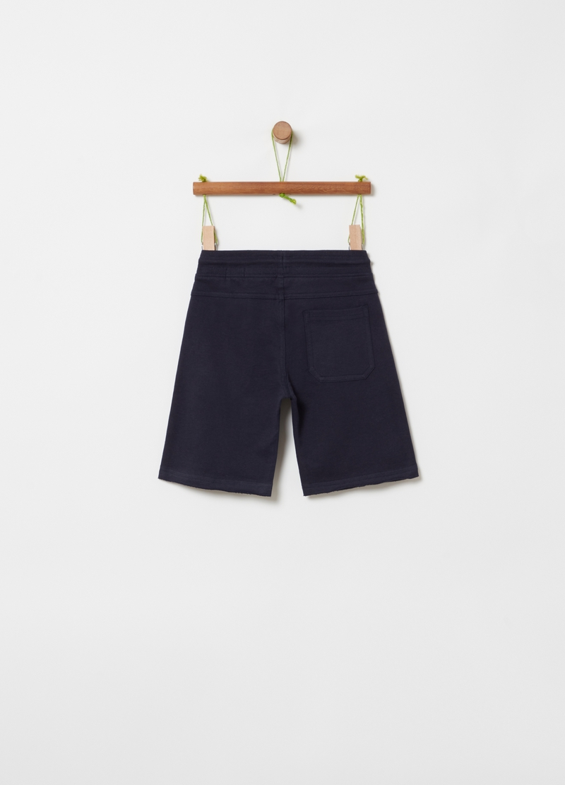 100% cotton French terry shorts image number null