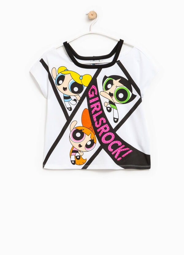 T-shirt with The Powerpuff Girls print | OVS