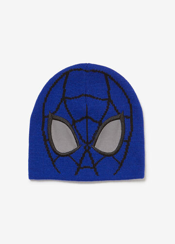 Beanie cap with Spiderman embroidery