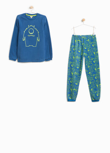Pyjamas with print and monster pattern