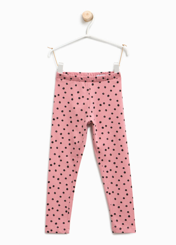 Leggings con stampa a pois all-over | OVS