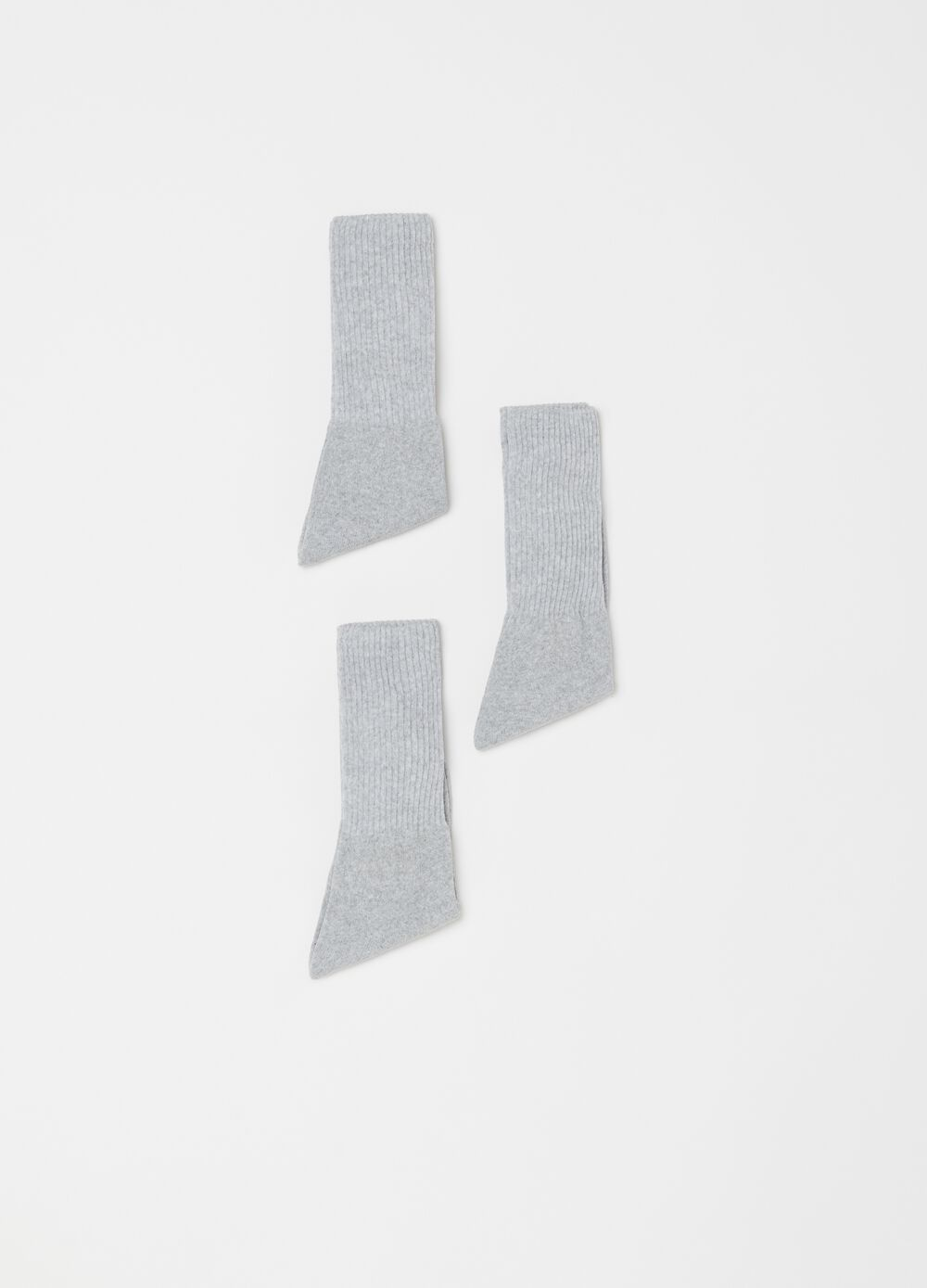 Three-pair pack tennis socks in terry