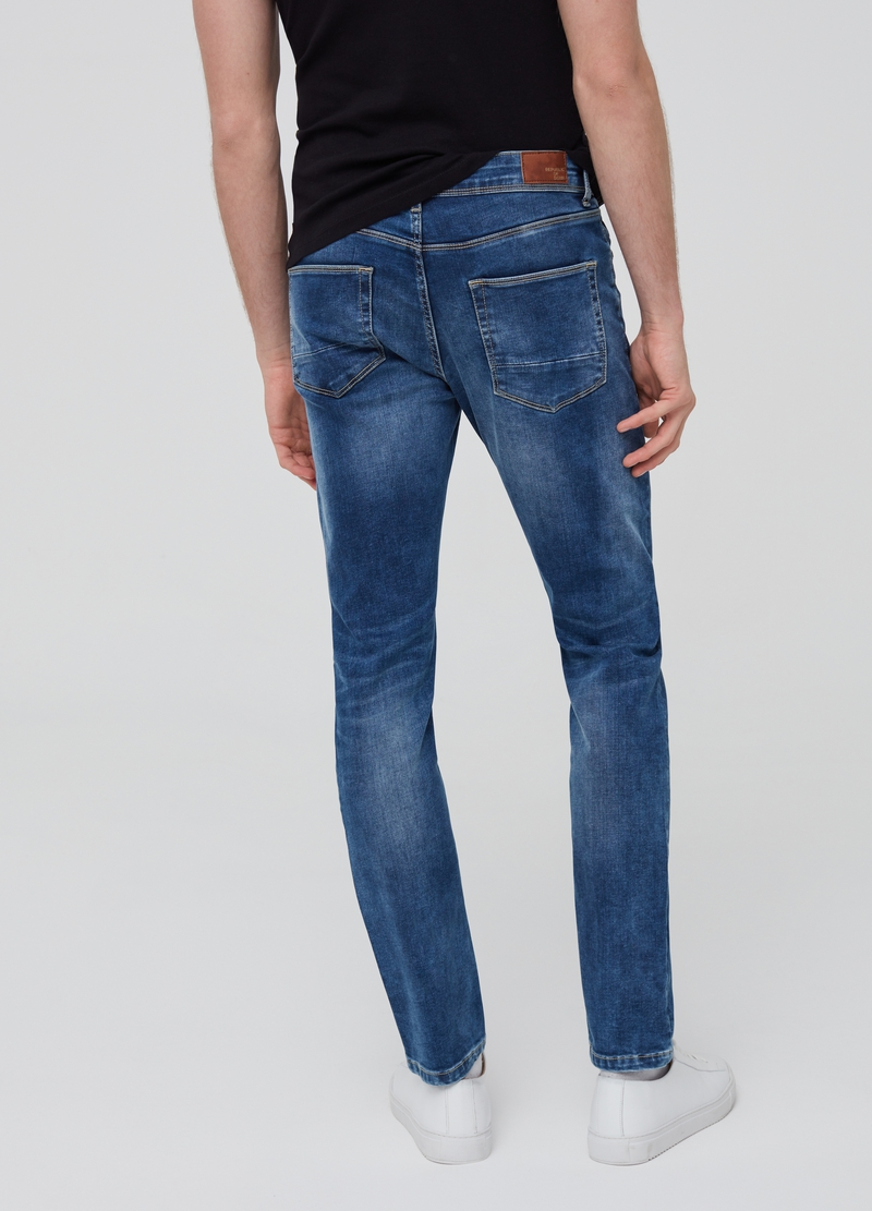Jeans skinny fit stretch cinque tasche image number null
