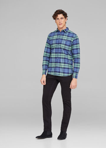 Shirt with two check pockets
