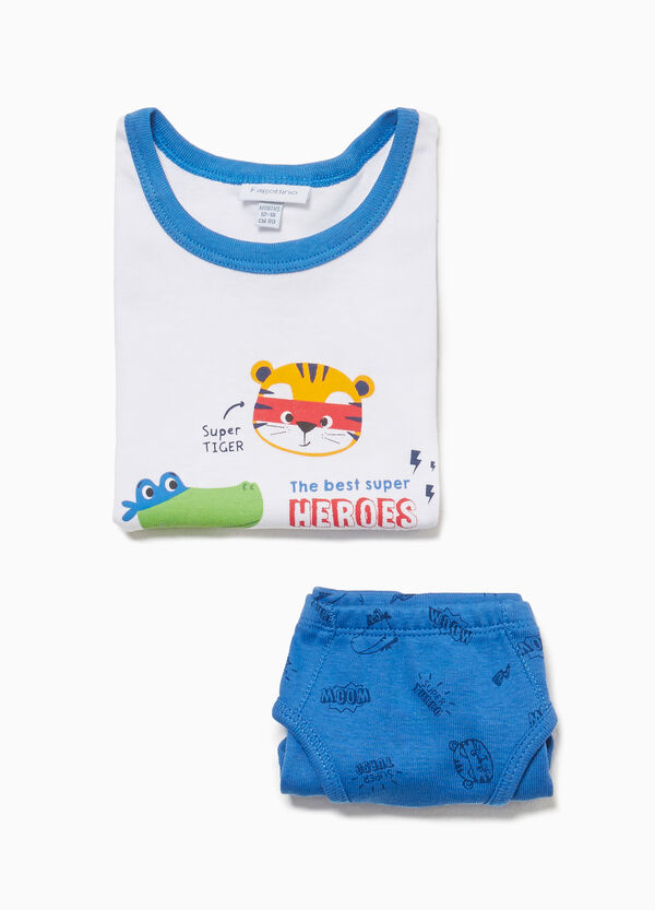 Animal cotton underwear set