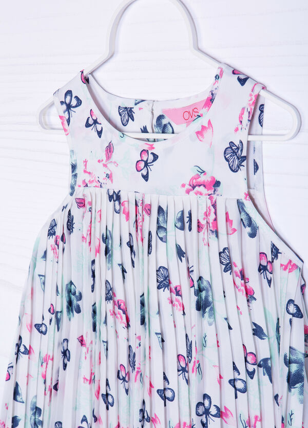 All-over butterfly print dress | OVS