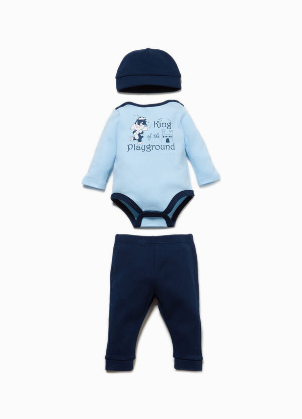 Baby Sylvester outfit in 100% cotton | OVS