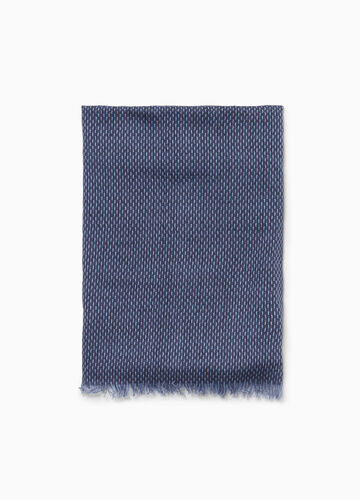 Scarf in 100% cotton jacquard