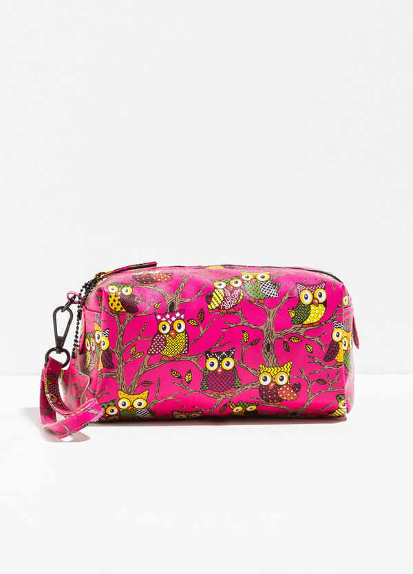 Pochette stampa gufi all-over | OVS