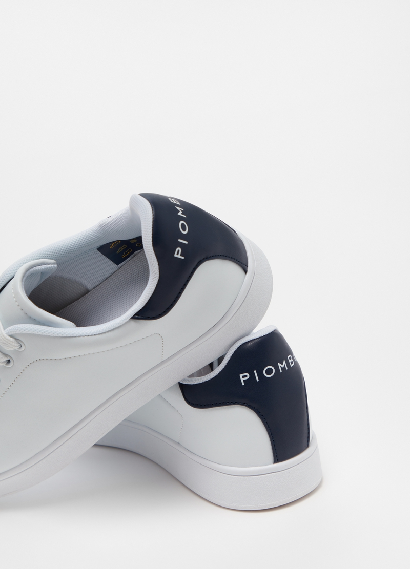 PIOMBO Sneakers con tallone a contrasto image number null