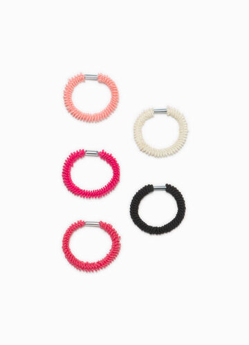 Five-pack hair elastics